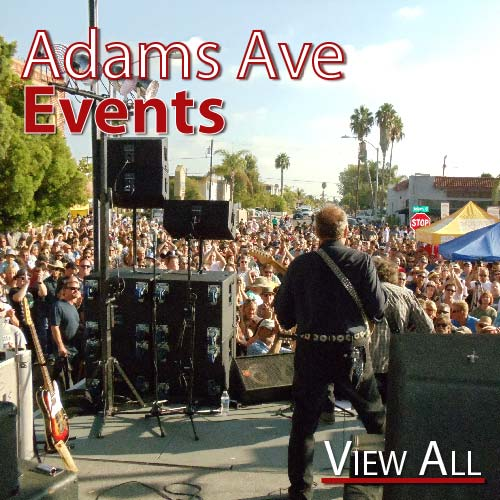 Adams Avenue Events